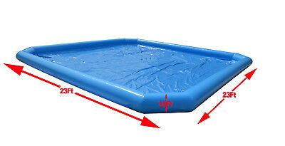 7*7*0.55m Inflatable Pool For Water Walking Ball With Two 110v 800w Blowers