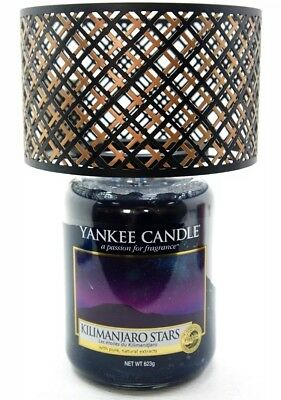 Yankee Candle Black And Copper Barrel Lamp Shade New With Free Next Day Delivery