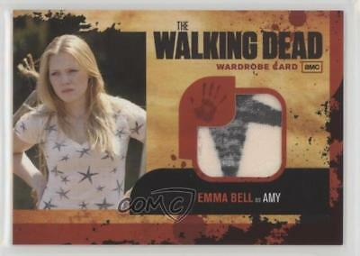 2011 Cryptozoic The Walking Dead Season 1 Authentic Wardrobe #m9 Emma Bell 0c3