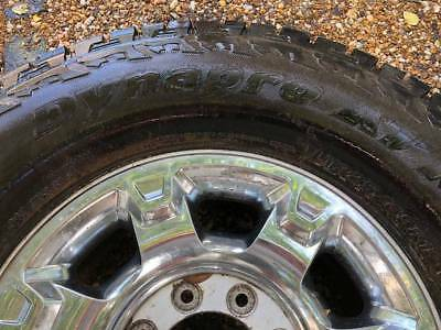 """4 Like New 2016 Ford Truck 18"""" Rims With 325/65r18 Hancook Dynapro Atm Tires"""