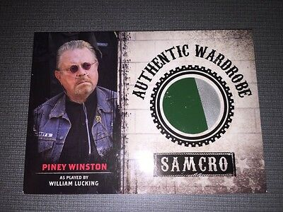 Sons Of Anarchy Trading Cards Authentic Wardrobe Oxygen Tank Card. Rare.