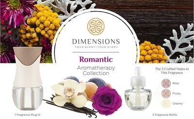 Dimensions Romantic Collection With Fragrance Plug-in 1 Ea (pack Of 6)
