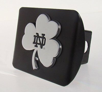 Hello This Is  Notre Dame Fighting Irish Premium Metal Hitch Cover With Chrome..