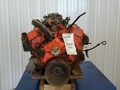 1972 Chevy Full Size 4.4 Engine Motor Assembly 25,015 Miles No Core Charge