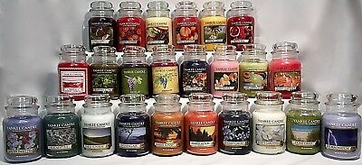 Rare Yankee Candle 22oz Large Jar *you Pick* Retired Htf Large Variety Of Scents