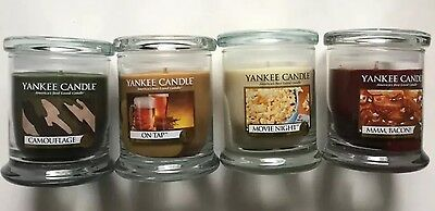 Yankee Candle Man Candle Line Movie Night Mmm, Bacon On Tap Camouflage 8 Oz Vhtf