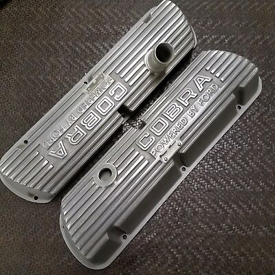 Open Letter Cobra Valve Covers 260 289 302 351w Ford Mustang