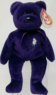 1997 Princess Diana Ty Beanie Baby Rare Retired