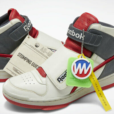 Reebok Alien Stomper Bishop 40th Anniversary Dv8578 Men Size Us 10/ Women 11.5