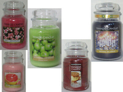 Yankee Candle Large Jar Candle 110-150 Hrs 22 Oz U Pick Scent
