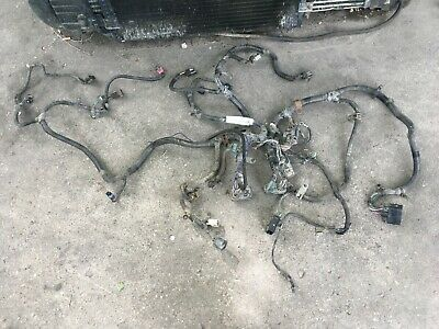 2004.5 Dodge Diesel Motor Ecm And Trans Wiring Harness 4x4 Dash Switch 3972349