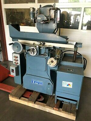 Jones Shipman 540p 2-axis Surface Grinder, Very Good Condition. Video