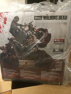 Walking Dead Daryl Dixon Resin Statue Mcfarlane Toys Brand New & Sealed Le
