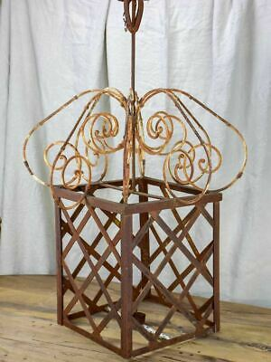 Very Large French Candle Lantern - 1950