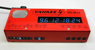 Yankee Hs-m12 Power Supply Brand New W/ Warranty! Free 2-3 Day Shipping In U.s.!