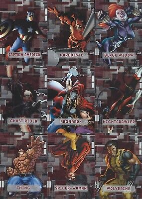 2012 Marvel Beginnings Series 3...complete 60 Card Prime Micromotion Insert Set