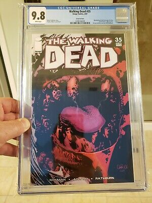 Walking  Dead #35 Error Variant & First Print. Cgc 9.8 Nm/mt