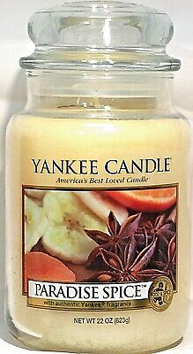 Retired Yankee Candle Paradise Spice 22oz Large Jar Candle Rare Oop Vhtf New