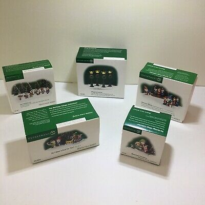 Dept 56 North Pole Series As Set Or Individually See Description For Details