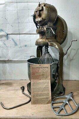 Hobart Mixer 1921 First Model Patented Pending All Original Wow One Of A Kind