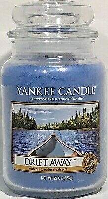 Rare Yankee Candle Drift Away 22oz Large Jar Candle Retired Vhtf Collectible New