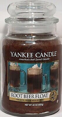 Rare Yankee Candle Root Beer Float 22oz Large Jar Candle Retired Vhtf Collectors