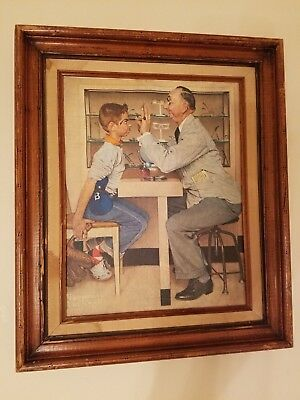 Norman Rockwell The Optometrist