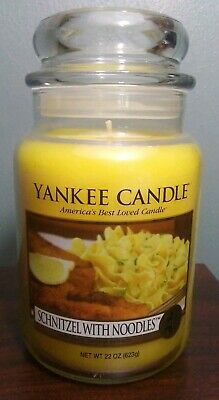 Yankee Candle Schnitzel With Noodles Large Jar 22 Oz My Favorite Things Holiday