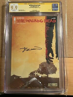 Walking Dead #193 1st Print Cgc Ss 9.9! Mint! White Pages! Signed Robert Kirkman