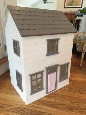 Westport Pottery Barn Kids Dollhouse Furniture And Dolls Excellent Condition