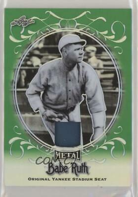 2019 Leaf Collection Yankee Stadium Seat Green Memorabilia/4 #ys-07 Babe Ruth