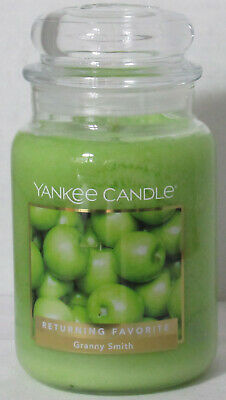 Yankee Candle Large Jar Candle 110-150 Hrs 22 Oz Granny Smith Returning Favorite