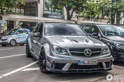 Mercedes-benz C63 W204 (saloon) - Full Body Kit Black Series Amg Look
