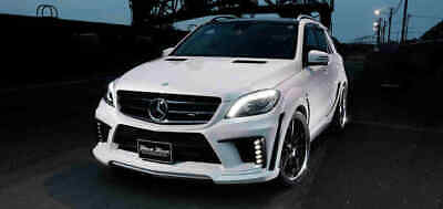 Mercedes-benz Ml W166 - Full Body Kit Black Bison Wald Look