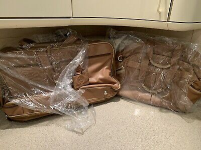 Rarenew 2 Piece Custom Leather Luggage Set 2006 Lexus Sc430 Pebble Beach Edition