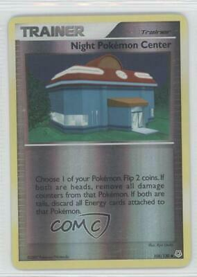 2007 Pokémon - Diamond & Pearl Reverse Foil Night Pokemon Center #108 a3q