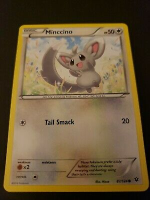 Pokemon Fates Collide Minccino Single Card Common