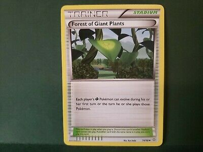 Pokemon Ancient Origins Forest Of Giant Plants Trainer Single Card Uncommon