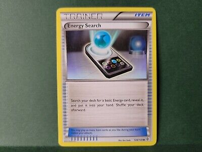 Pokemon Boundaries Crossed Energy Search Trainer Single Card Common