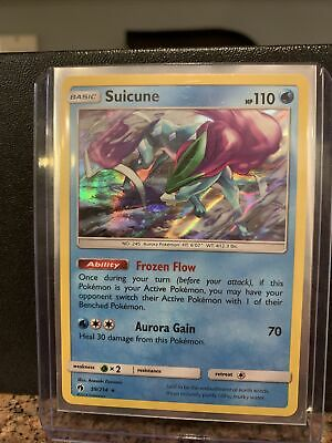Suicune HOLO RARE 59/214 (NM/MINT) SM Lost Thunder Pokemon Cards