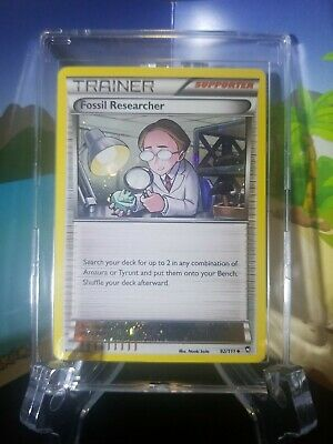 Pokemon Fossil Researcher - 92/111 - Alternate Holo - Furious Fists - LP