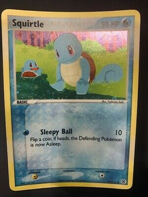 Pokemon EX FireRed & LeafGreen - Squirtle 82/112 Reverse Holo (Near Mint)