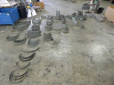 huge 425 lbs lot of misc. mixed heater bands /// band bulk