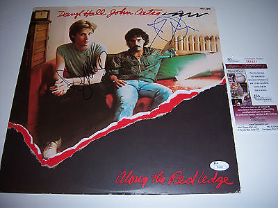 Daryl Hall And John Oates Along The Red Ledge Jsa/coa Signed Lp Record Album