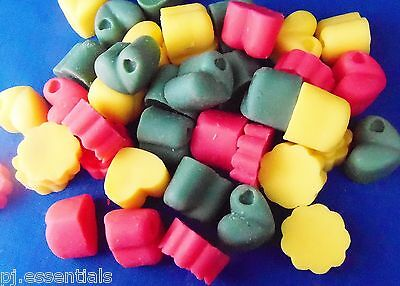 50 Scented Assorted Wax Melt Candle Tarts