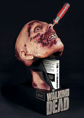 Amc Second Season Bluray Limited Edition Of The Walking Dead Zombie Head