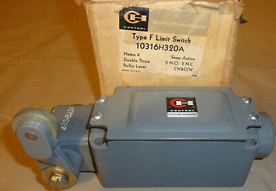 Cutler Hammer 10316h320a Limit Switch Type F Double Throw 2 N.o. 2 N.c. New