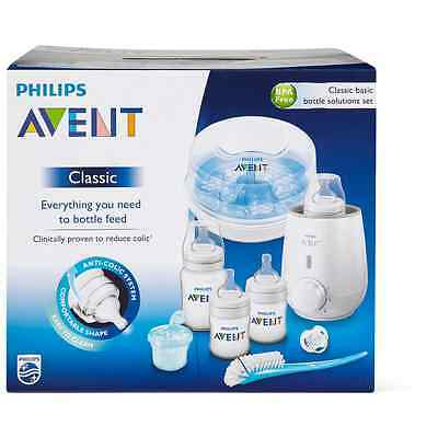 Philips Avent Classic Bottle Solution Kit Bpa-free Basic Baby Solution Kit