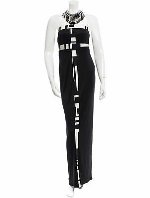 Spectacular New $9,810 Sold Out Emilio Pucci Silk Halter Dress