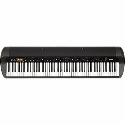 korg electronic keyboard stage vintage piano sv1 88 bk 88 key japan new.